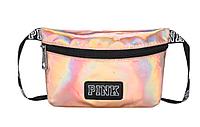 Поясная маленькая спортивная сумочка victoria`s secret pink