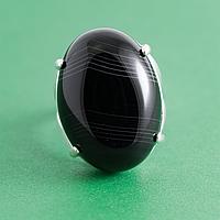 Оникс, 25*18 мм., серебро 925, кольцо, 918КО