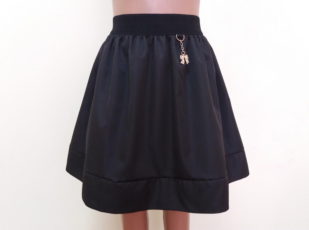 3b7f0eff4b6 Детская школьная юбка на резинке