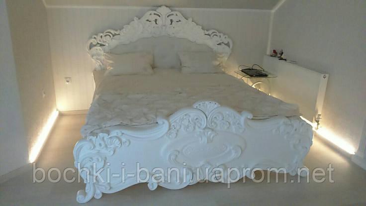 Спальный гарнитур резной (массив), фото 2