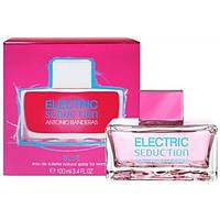 Женская туалетная вода Antonio Banderas Electric Seduction Blue Women edt 100 ml (лиц.)