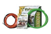 Теплый пол Volterm 180 двухжильный кабель 1350 Вт/7.4 м2 (0.1х74 м) под плитку и стяжку (HR18 1350)