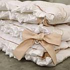 Детское постельное белье для овальной/круглой кроватки Маленькая Соня Ricci белый, фото 8
