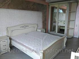 Спальный гарнитур из натурального дерева, фото 3