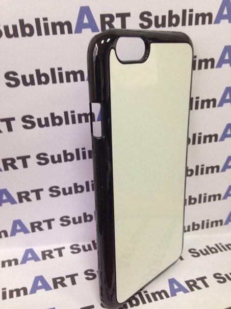 Чехол для 2D сублимации пластиковый Iphone 6 черный