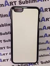 Чехол для 2D сублимации пластиковый Iphone 6 черный, фото 2