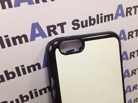 Чехол для 2D сублимации пластиковый Iphone 6 черный, фото 3