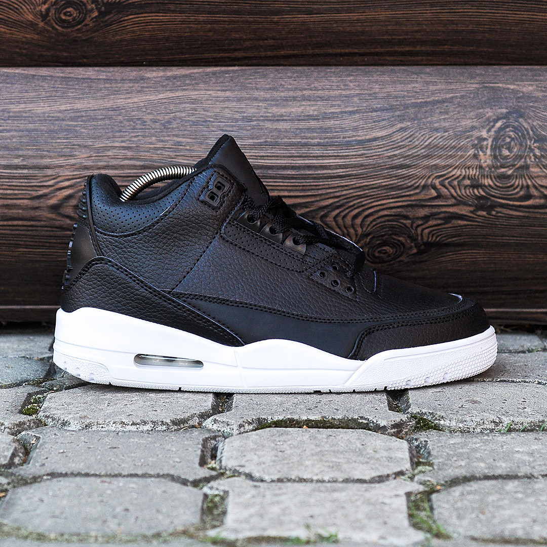 Мужские Кроссовки  Nike Air Jordan 3 Cyber Monday Black/White