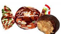 Конфеты грильяж арахисово-клюквенный в шоколаде
