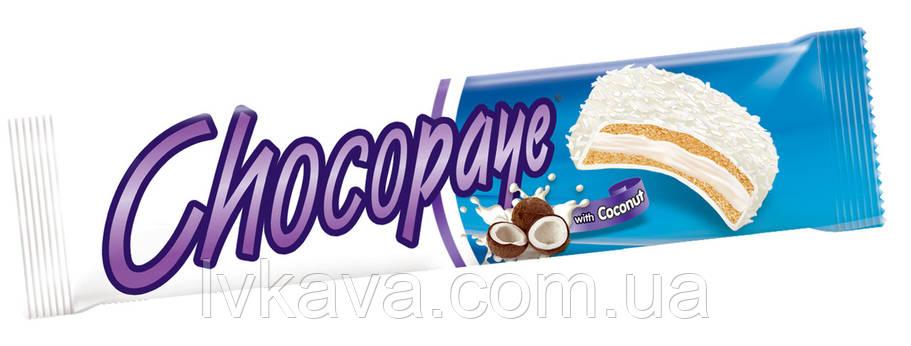 Печенье-сендвич в белой глазури , маршмеллоу и кокосом  CHOCO PAYE  Simsek, 57 гр , фото 2