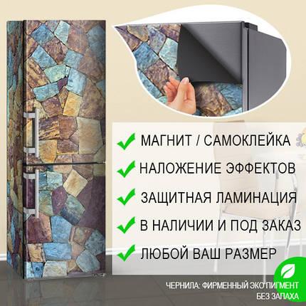 Обновить холодильник своими руками, Самоклейка, 180 х 60 см, Лицевая, фото 2