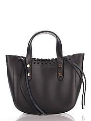 Кожаная сумка Genuine Leather Сумка на каждый день Genuine Leather 1022_black Кожаная Черный