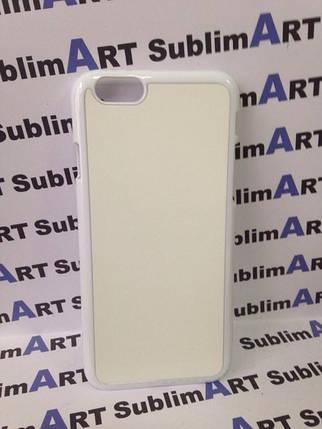 Чехол для 2D сублимации пластиковый Iphone 6/6s белый, фото 2