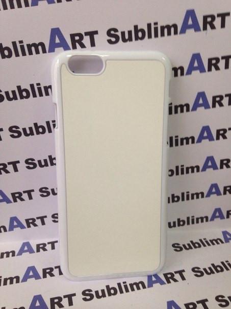 Чехол для 2D сублимации пластиковый Iphone 6 белый