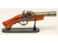 Мушкет-зажигалка подарочный длинна 32см