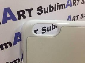 Чехол для 2D сублимации пластиковый Iphone 6 Plus белый , фото 3