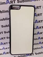 Чехол для 2D сублимации пластиковый Iphone 6/6s Plus черный