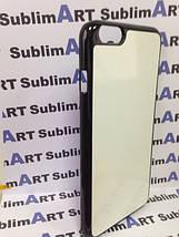 Чехол для 2D сублимации пластиковый Iphone 6/6s Plus черный, фото 2
