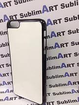 Чехол для 2D сублимации пластиковый Iphone 6/6s Plus черный, фото 3