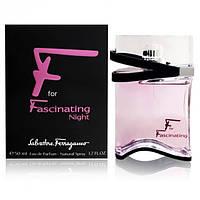 Женская парфюмированная вода Salvatore Ferragamo F for Fascinating Night edp 50ml (лиц.)