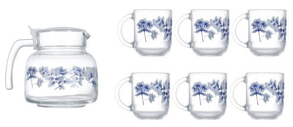 Altese Blue Сервиз чайный 7 пр. Luminarc N6224