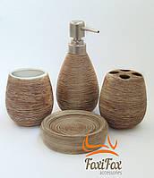 Подарочный набор для ванной 4 предмета Wood Style