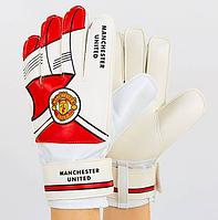 Перчатки вратарские MANCHESTER (PVC, р-р 8-10), фото 1