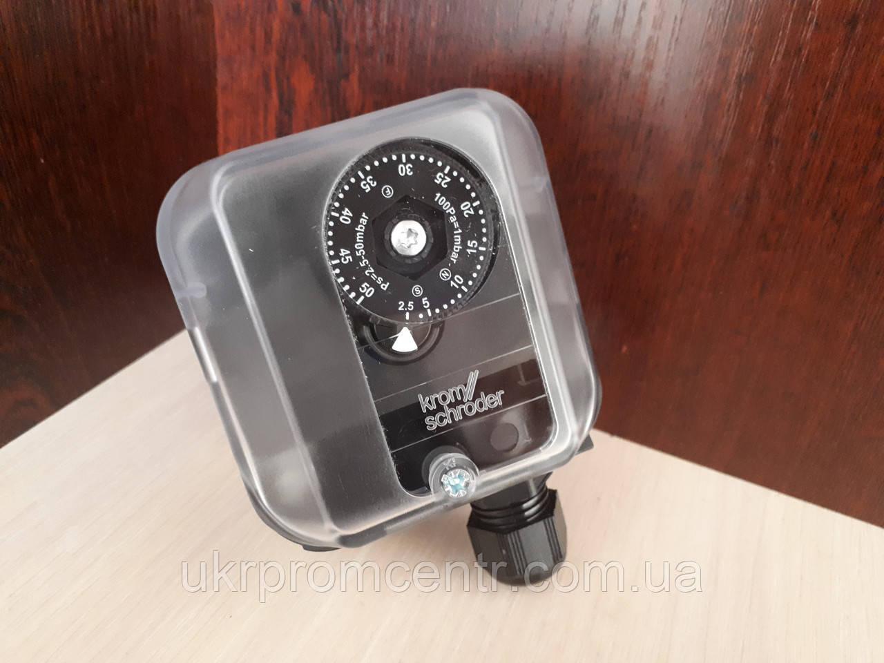 Датчик-реле давления для газа DG