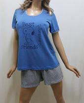 Пижама женская футболка и шорты код245, Харьков, от 44 до 50 р-ра, фото 3