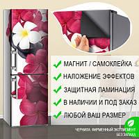 Виниловая наклейка на холодильник, Наклейка на холодильник, 180 х 60 см, Лицевая