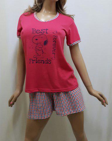 Пижама женская футболка и шорты большого размера 52 c2fffd769dd04