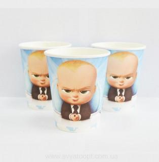 Стаканчики детские босс молокосос 10 шт