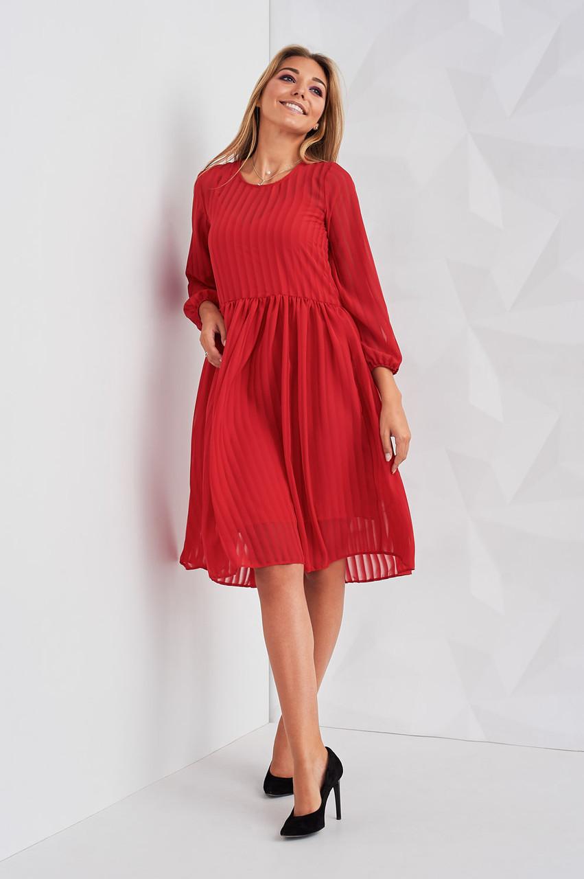 030d1f96668 Изысканное красное женское платье Лайза - Интернет-магазин Buyself.com.ua в  Киеве