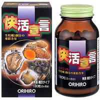 ORIHIRO Экстракт устриц, мидий, куркумы и чеснока для восстановления жизненной энергии и мужской силы