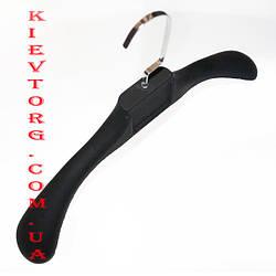 Плечики вешалки с широким плечом для верхней зимней одежды каучуковые