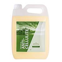 Профессиональное массажное масло Anti-cellulite 5 литров, антицеллюлитное для массажа