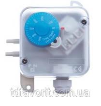 Прессостат PS 500 диапазон измерения 30-500 Па, AC 250 В, гистерезис 20 Па, IP54 + монтажный комплект