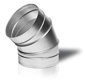 Отвод вентиляционный круглый Вентс 45-125