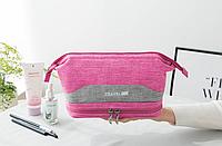 Органайзер-косметичка дорожная Travel Bag 24*15*12 см, розовый