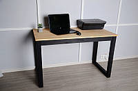 Офисный компьютерный или письменный стол Тэста 120смх60смх75см натуральное дерево, фото 1