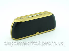 Golon RX-1818bt 6W, блютуз колонка, золотая, фото 3
