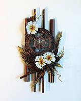 Ажурные часы с натуральной кожи