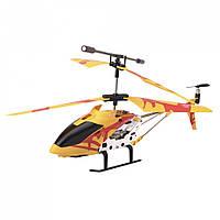 Игрушечный вертолет на р/у в чемоданчике для мальчиков с 10 лет (23х4х8 см) Желтый