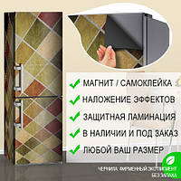 Защитная пленка на холодильник, Самоклейка, 180 х 60 см, Лицевая