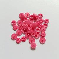 Цветные кнопки, цвет РОЗОВЫЙ (в упаковке 10 шт.)