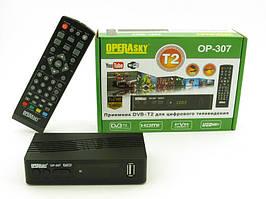 Цифровой эфирный приемник тюнер DVB-T2  OperaSky OP-307