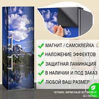 Виниловая наклейка на холодильник, Интерьерные наклейки на кухню, Самоклейка, 180 х 60 см, Лицевая
