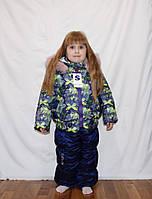 Зимняя куртка и полукомбинезон для девочек  92-110р, фото 1