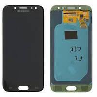 Дисплей для Samsung J530F Galaxy J5 (2017) + touchscreen, черный, OLED высокое качество