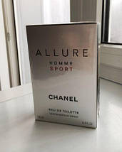 Мужские - Chanel Allure Homme Sport (edt 100ml) Шанель аллюр хом спорт, фото 2